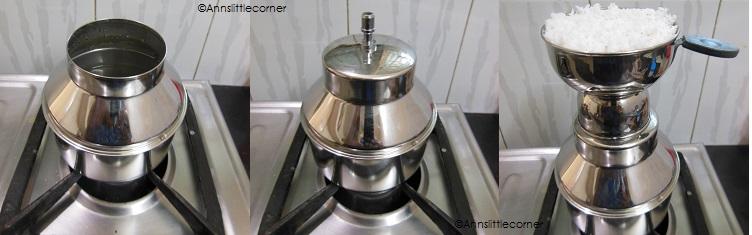 How to make Chiratta Puttu- Step 3