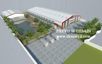 jasa gambar pabrik view kawasan