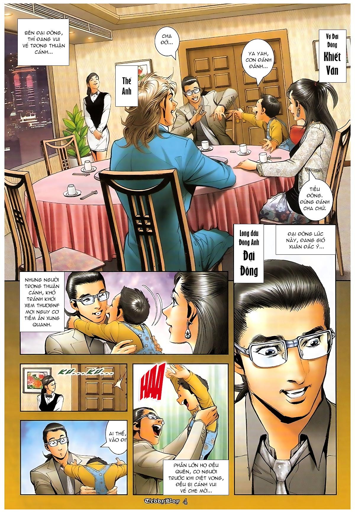 Người Trong Giang Hồ - Chapter 1265: Bát vàng rửa tay - Pic 3