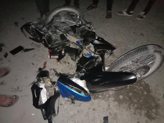 Tragis,Pengendara Supra X 125 Tewas Dihantam Colt Disel