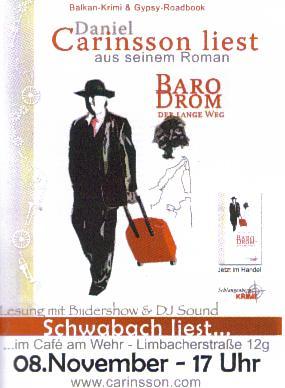 Daniel Carinsson - 'Baro Drom'