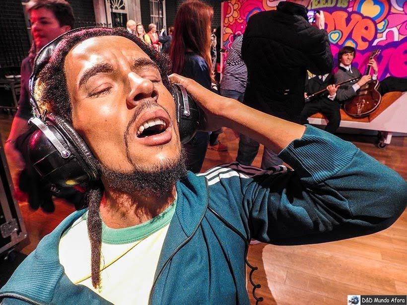 Bob Marley - Madame Tussauds: Como visitar o museu de cera de Londres