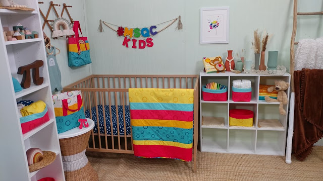 Creating for Kids - nursery series videos with Missouri Star Quilt Co.