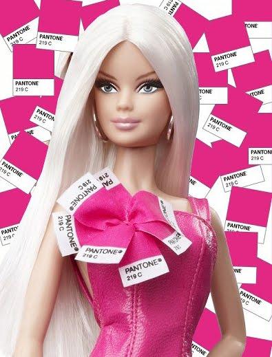 Pantone barbie