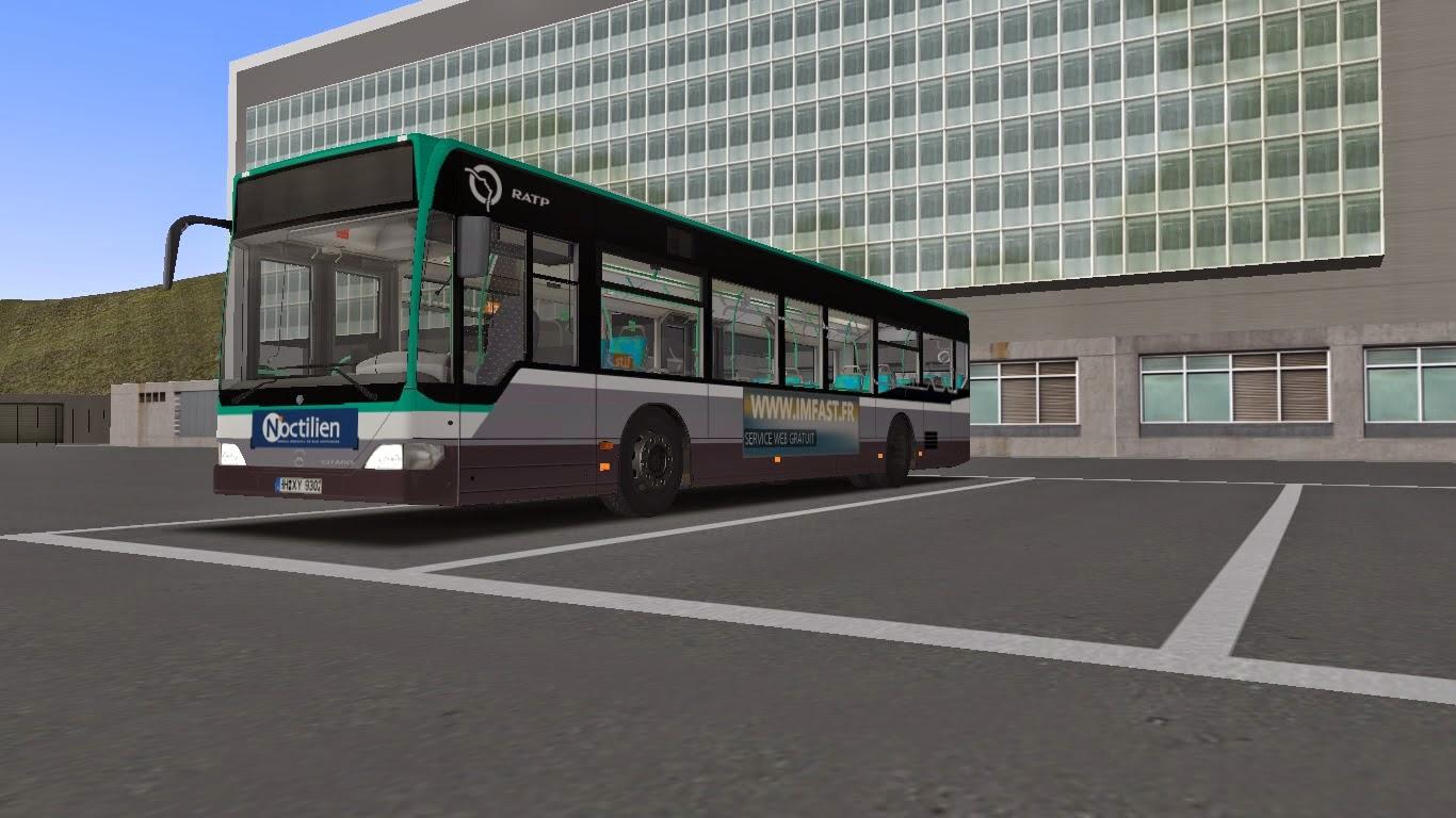 Bus Omsi Ratp