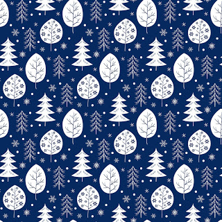 Christmas with trees free printable backgrounds
