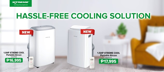 New XTREME Cool Portable Aircon for your home