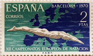XII CAMPEONATOS EUROPEOS DE NATACIÓN, SALTOS Y WATERPOLO