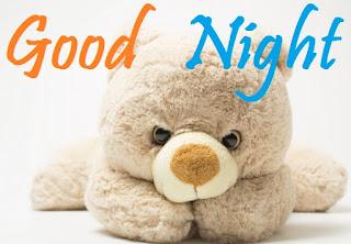 good night teddy bear
