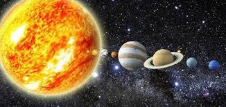 الكون والنظام الشمسي