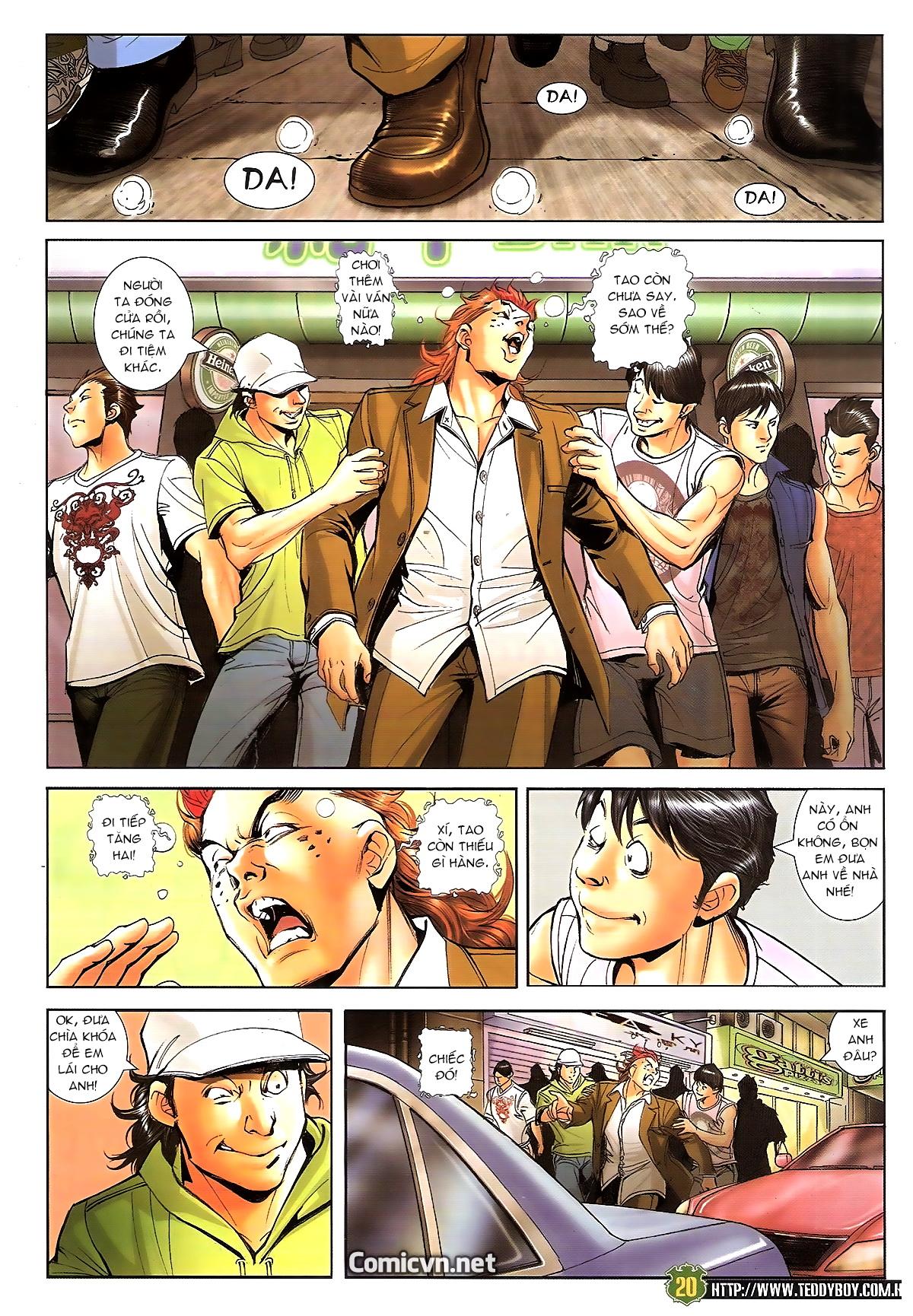 Người Trong Giang Hồ chapter 1646: đại hạn lâm đầu trang 16
