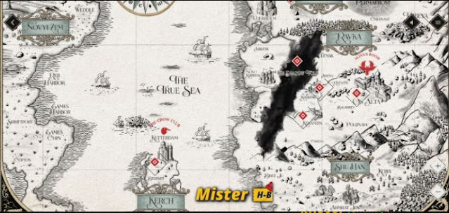 Shadow and Bone: Discover the world map in detail!