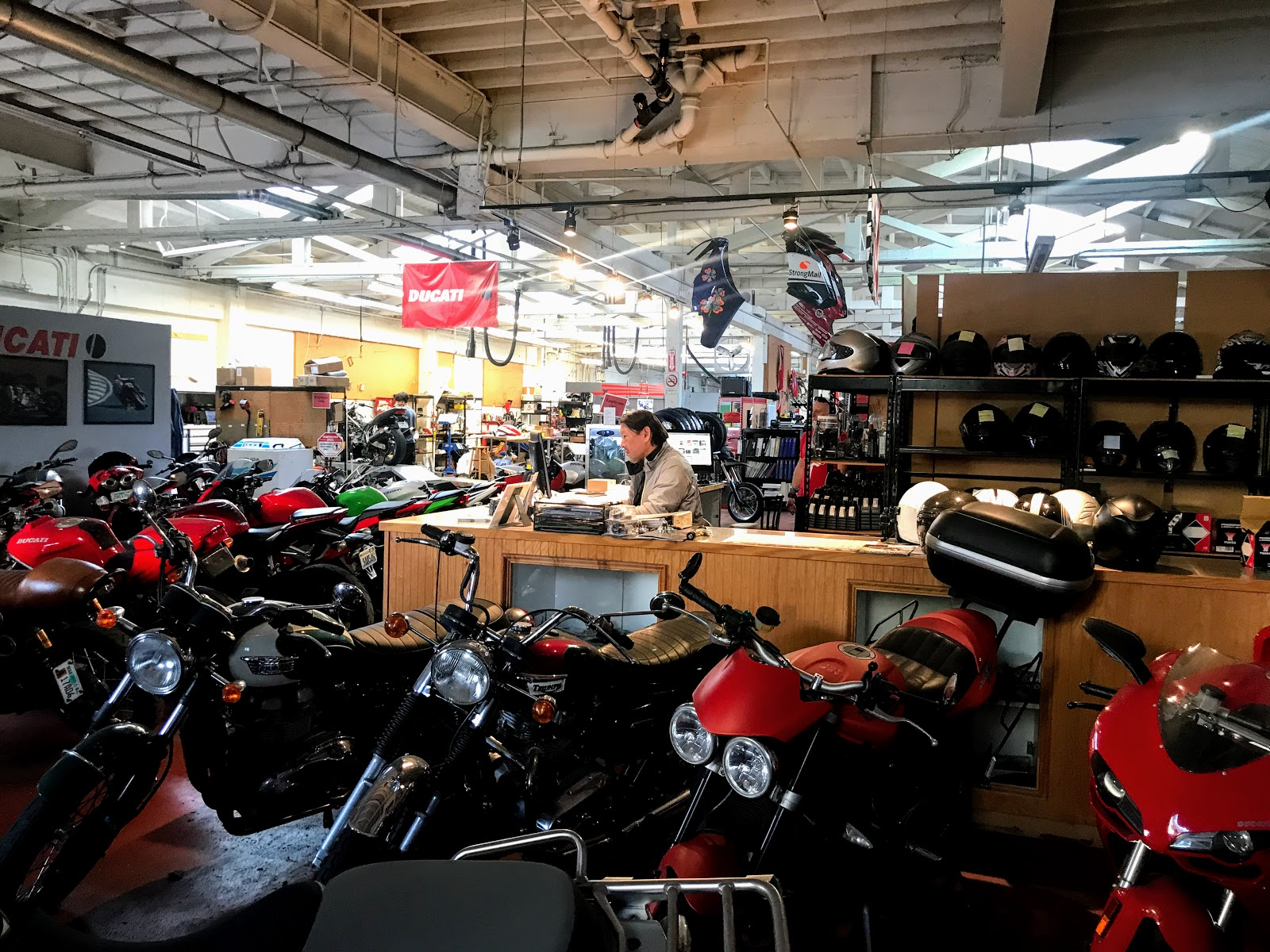 Ducati Travelogue of Tigh Loughhead s Motorcycle Adventures in NYC