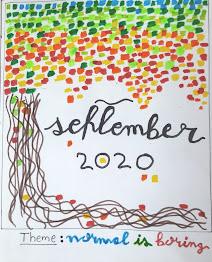 September 2020 Bullet journal Cover