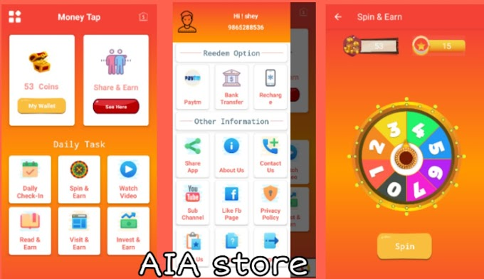 Money Beast Best Earning App aia for Kodular with Spinning Wheel and Admin Panel
