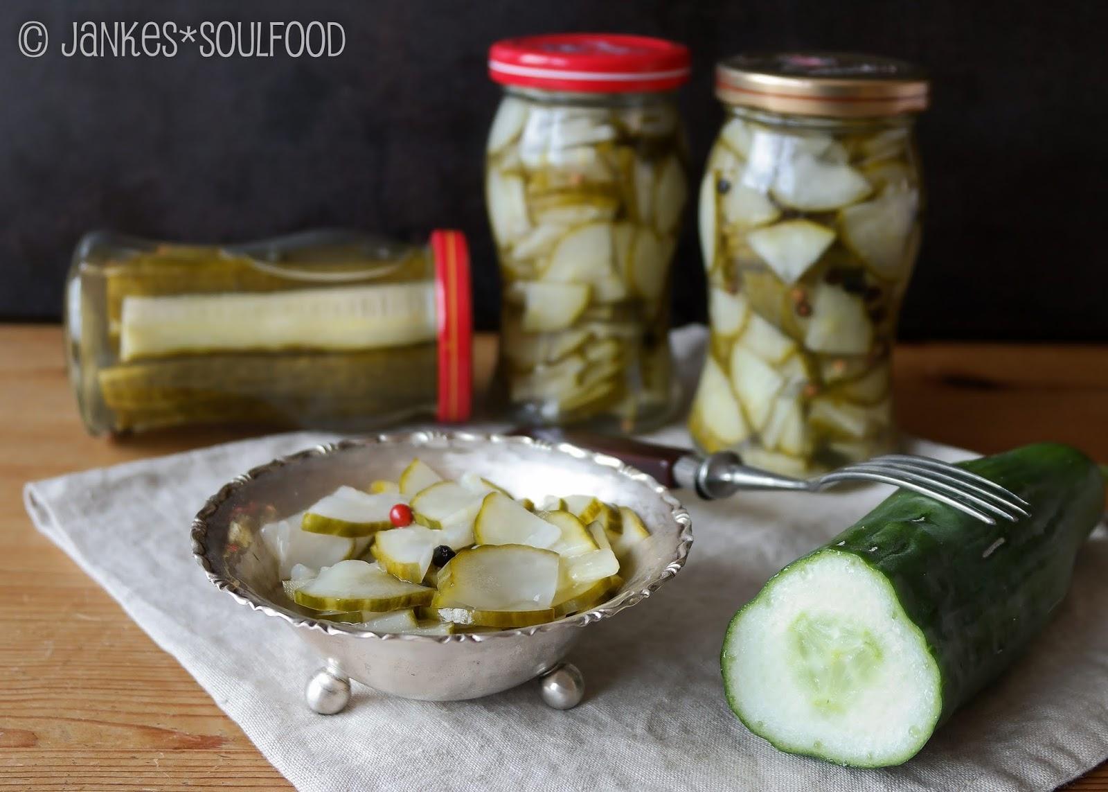 Salatgurken lecker einkochen