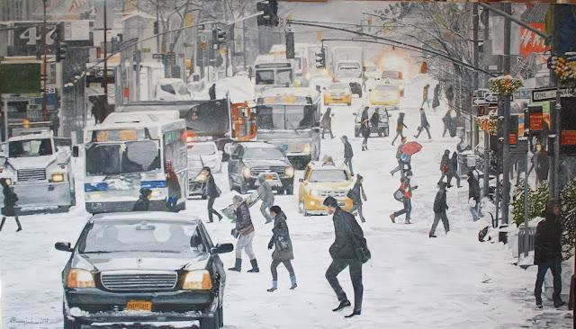 Snow in 5th Avenue