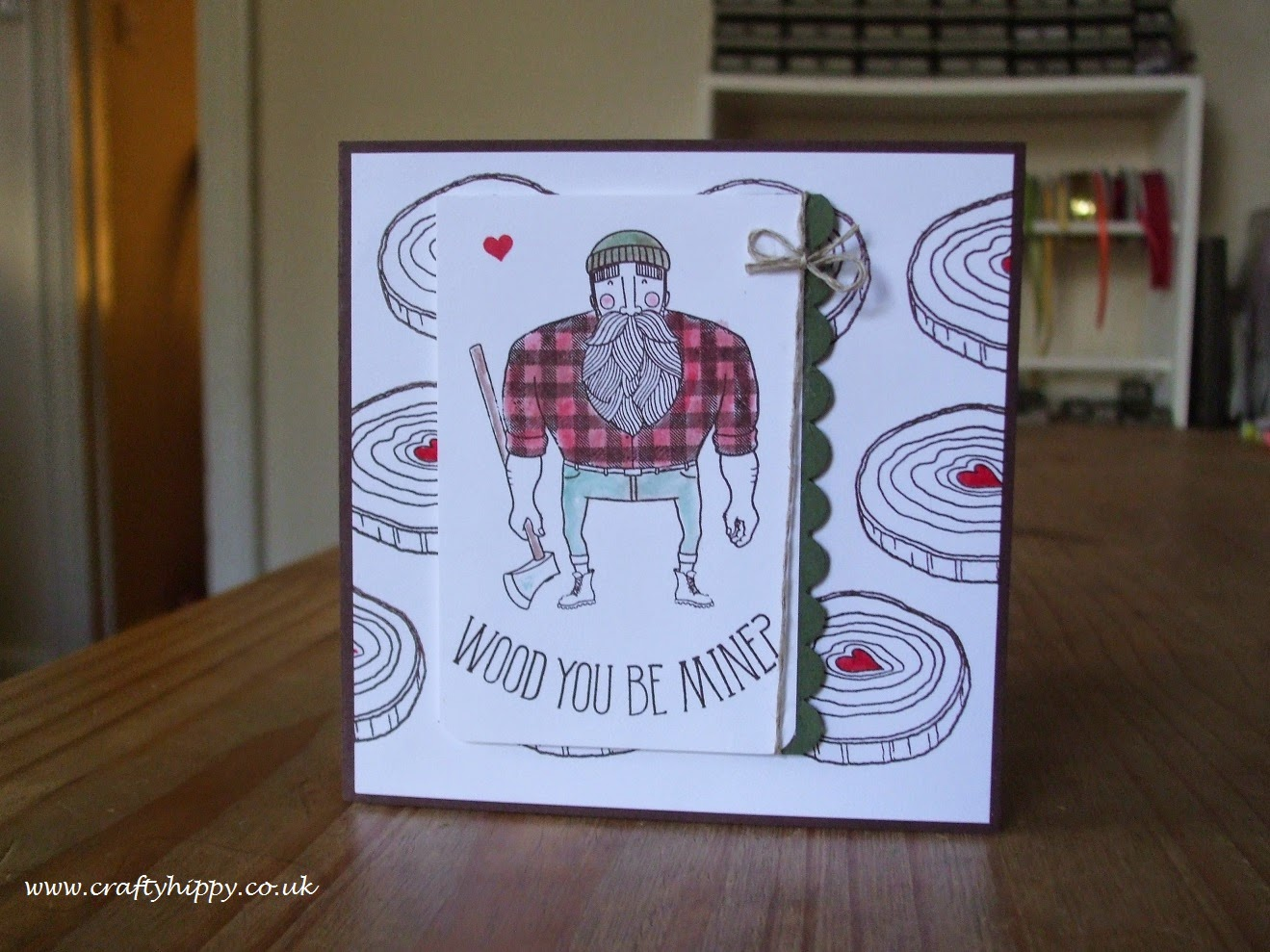 Stampin' Up! Wood You Be Mine