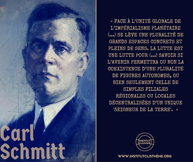Carl Schmitt. Plaidoyer pour la multipolarité, 1943