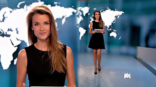 Céline Bosquet sexy et souriante