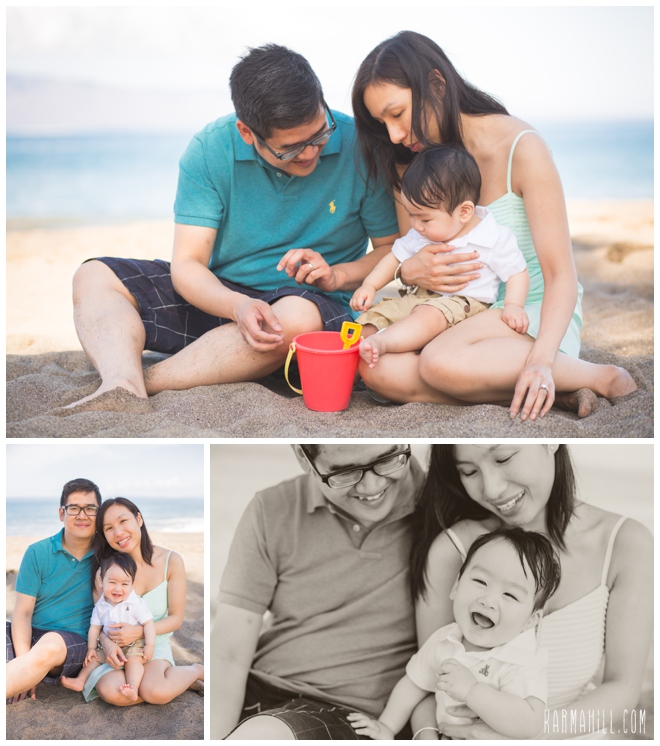 Maui Family Portraits by Karma Hill Photography