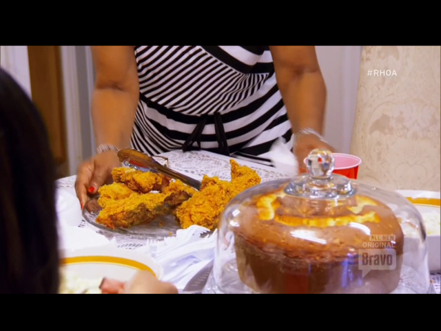 Real Housewives of Atlanta episode 8 recap Tea with a Side of Squashed Beef