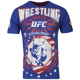 UFC Men's Hype T-Shirt - Blue