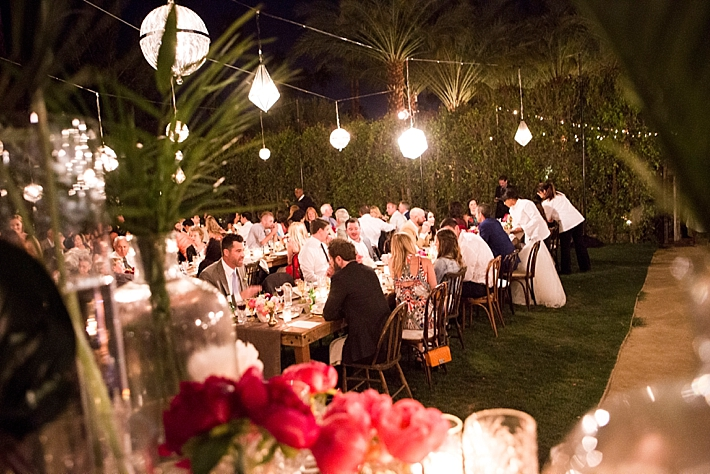 An Intimate Palm Springs Wedding