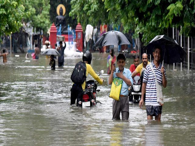 बिहार के तीन जिलों के लिए बारिश का अलर्ट, पटना में फुहारों से करना पड़ेगा संतोष
