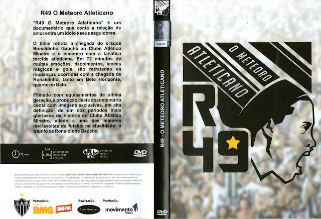Capa DVD R49 O Meteoro Atleticano