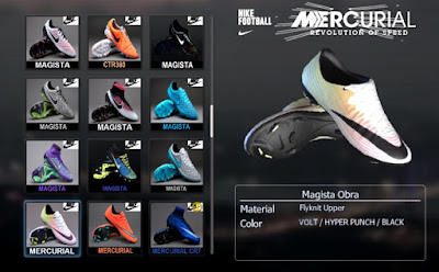 PES 2013 Nike Mercurial Vapor X 2016 Radiant Reveal Boots by Ronaldo7rm