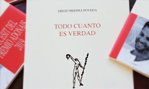 Diego Medina Poveda en «Lunes de Poesía»