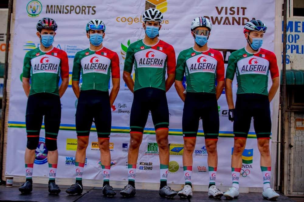 طواف رواندا لدراجات : لعقاب عز الدين في المركز 14 في المرحلة الثانية