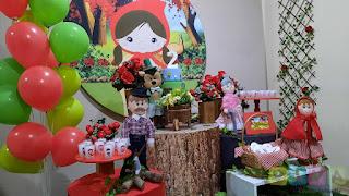 Decoração de festa infantil Chapeuzinho Vermelho Porto Alegre