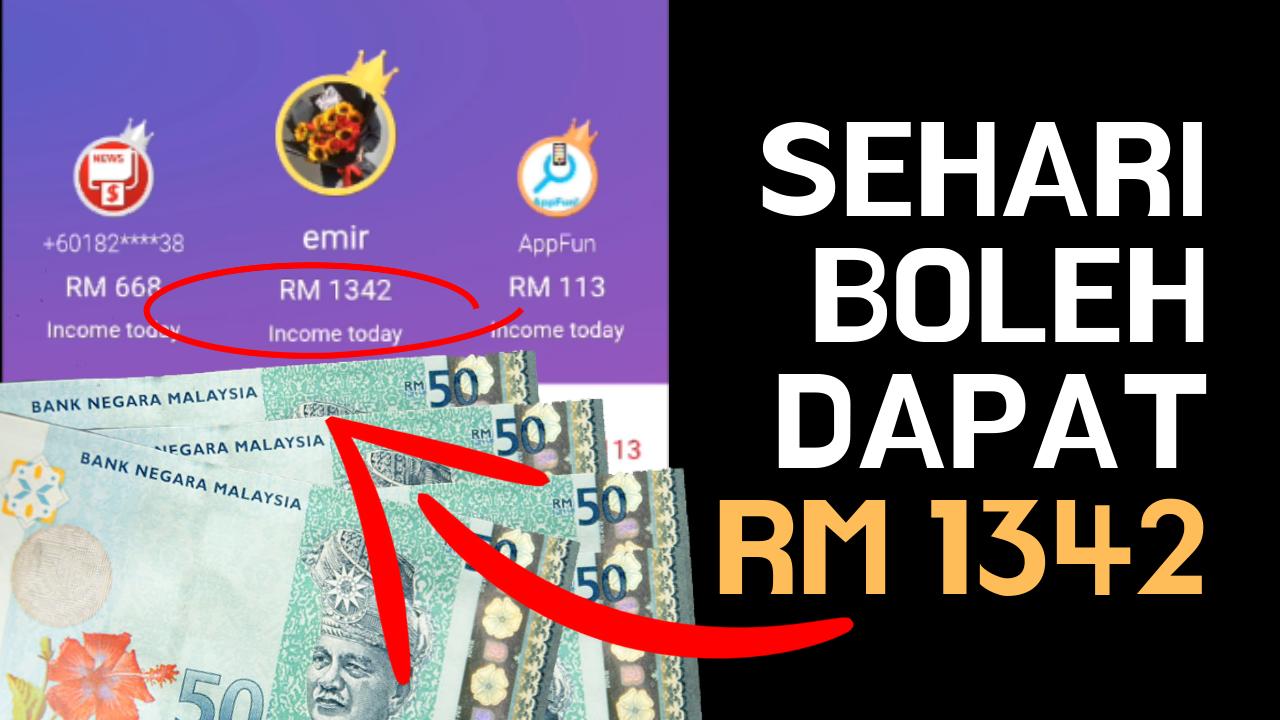 Baca Berita Dapat Duit Ringgit Malaysia Melalui Aplikasi Cashzine