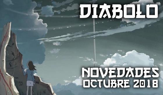 Novedades de Diábolo Ediciones de Octubre de 2018