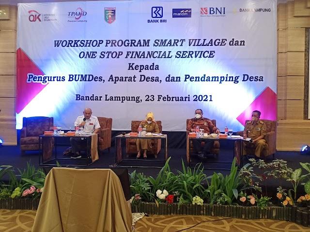 Sinergi OJK, Pemprov dan Lembaga Jasa Keuangan Wujudkan One Village One Agent di Provinsi Lampung