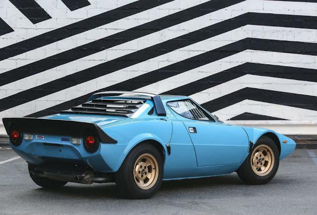 Lancia Stratos 1970s classic Italian sports car