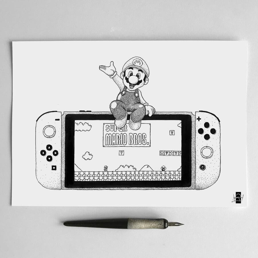 06-Mario-Bros-Rudoi-www-designstack-co