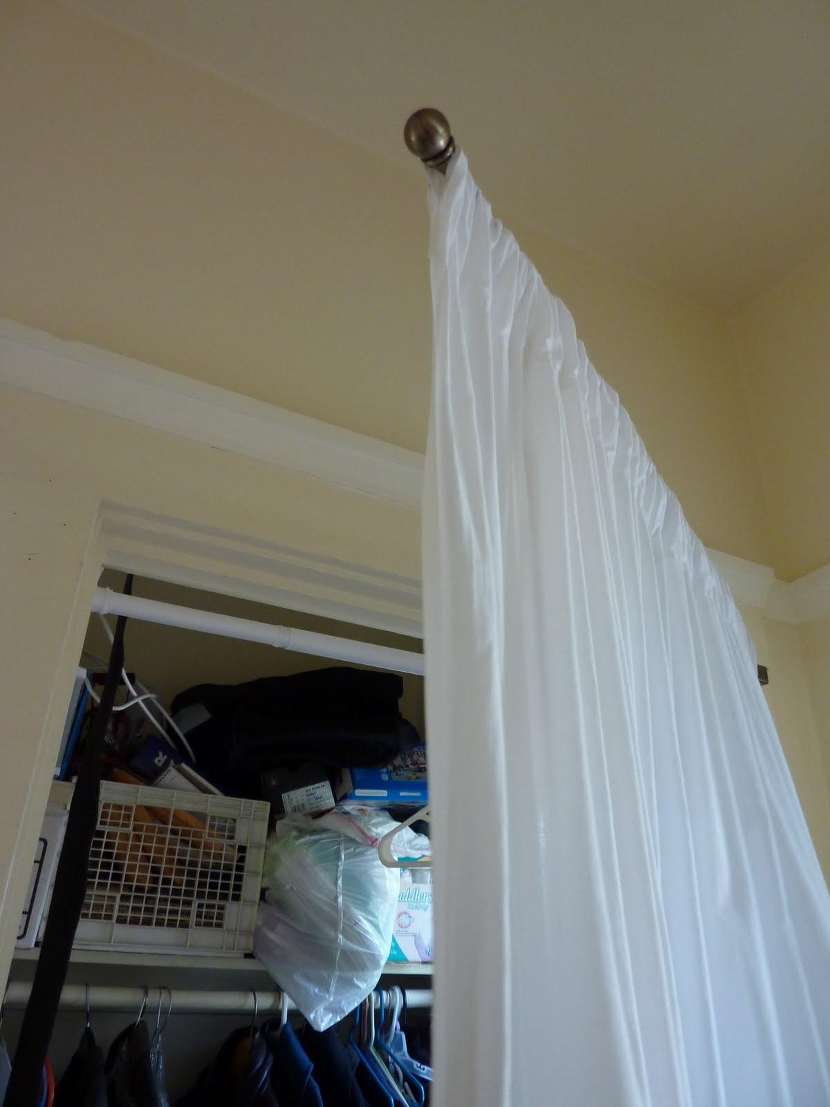 antique swing arm curtain rod