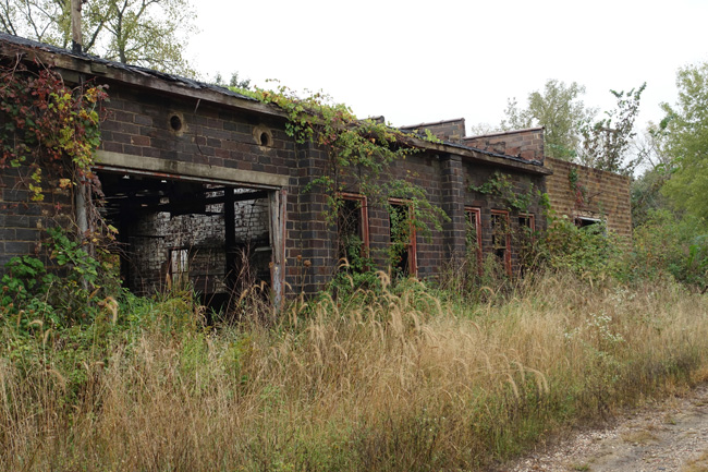 Abandoned Brickyard in Lehigh Iowa Reclaimed By Nature