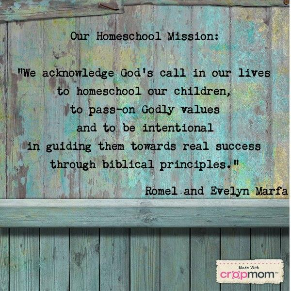 Why We Homeschool