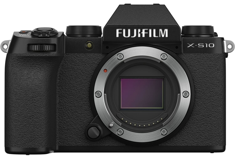 Fujifilm X-S10, вид спереди