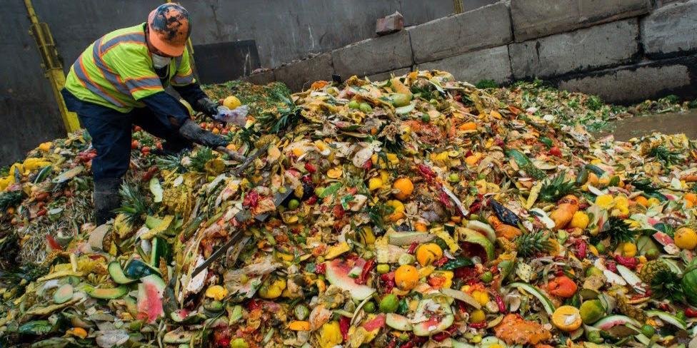 Gunungan Sampah Makanan