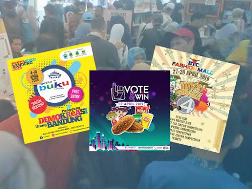 Jadwal Event Bandung April 2019