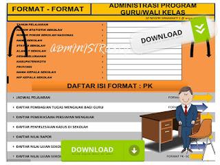 Aplikasi Administrasi Guru Wali Kelas Lengkap Format Excel.xls