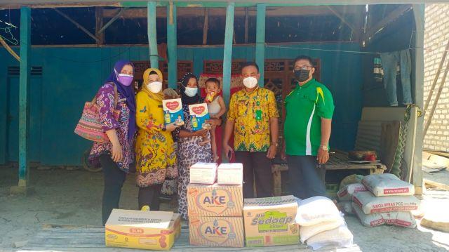 Team penanganan Gizi Pusat kesehatan masyarakat (puskesmas) kedungdung lakukan kujungan kembali kepada Hermansyah salah satu balita yang sebelumnya mengalami gizi buruk | PikiranSaja.com