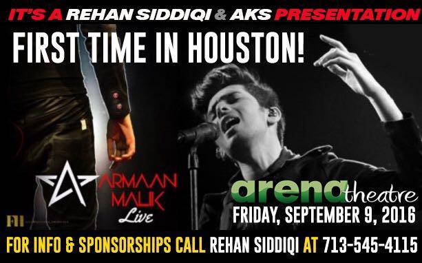 Armaan Malik Live in Houston