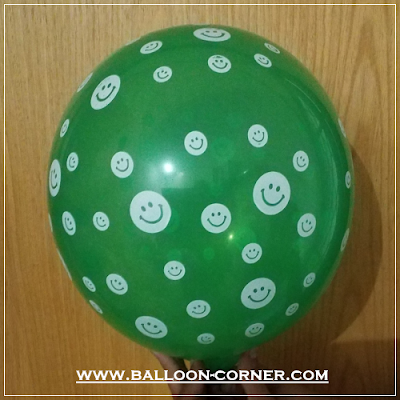 Balon Latex Print Emoji Smile (MURAH)