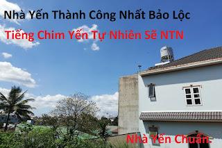 Nhà yến thành công tại Bảo Lộc - Lâm Đồng.